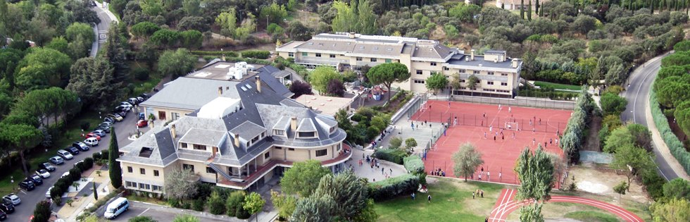 International College Spain aerial view photograph