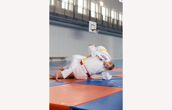 Judo in the gym