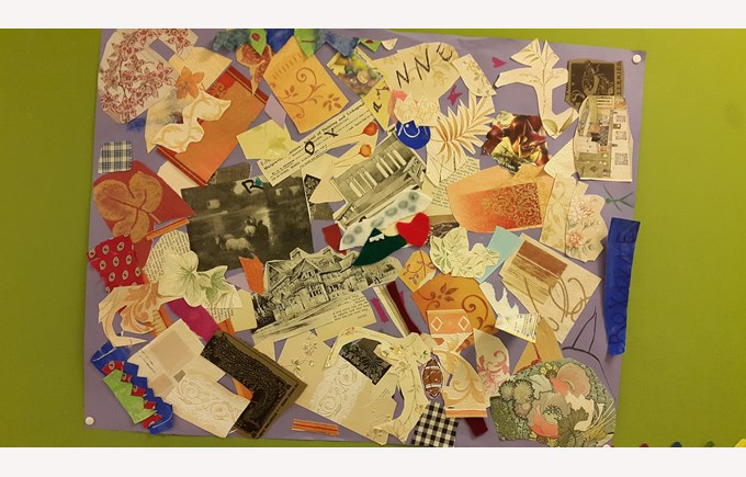 Collages like Kurt Schwitters