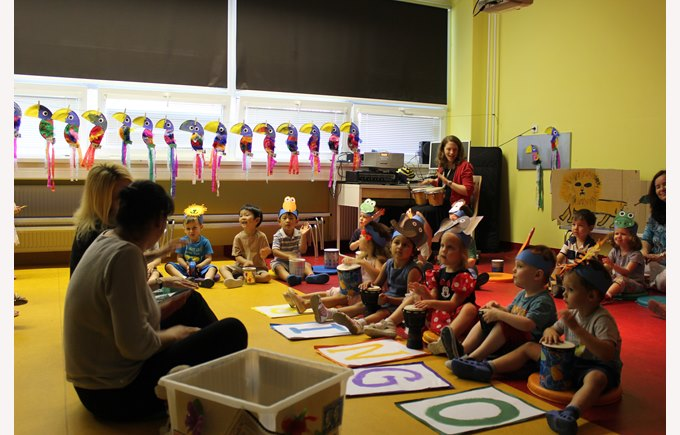 nursery and reception shows