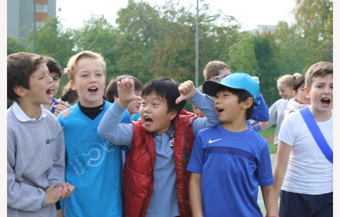 Inter House Cross Country Run