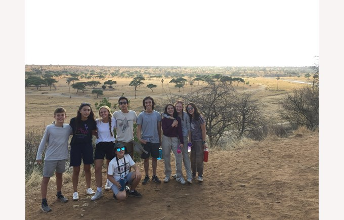 ICS Seeway school trip to Tanzania