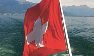 Swiss flag - Collège du Léman - International School of Switzerland