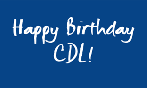 Happy birthday CDL