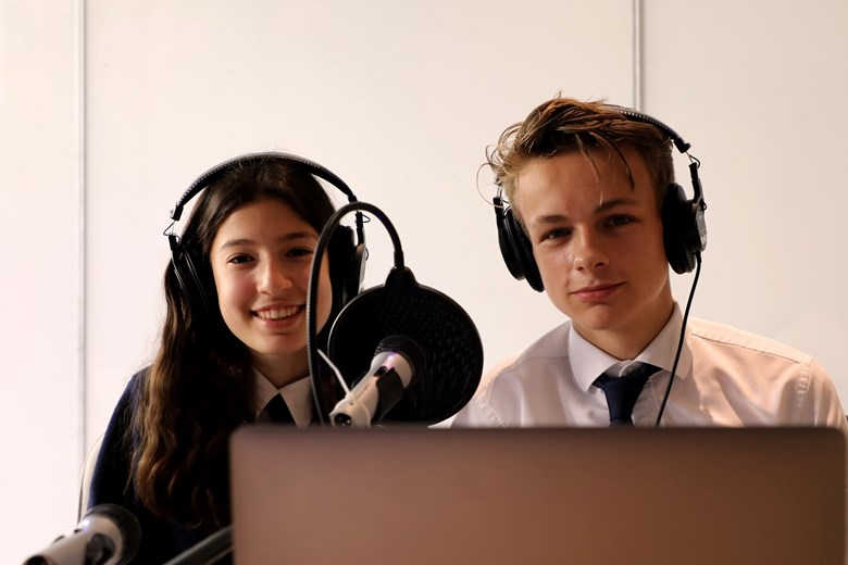Podcast Image of Students 2