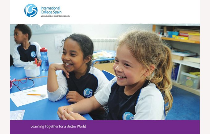 International College Spain brochure cover