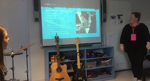 Rock School presentation