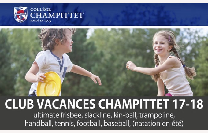 Flyer club vacances champittet