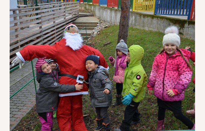 Santa in Forest School