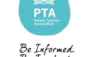 PTA logo and strap