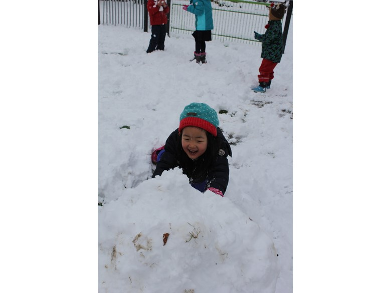 snow at playgrounds