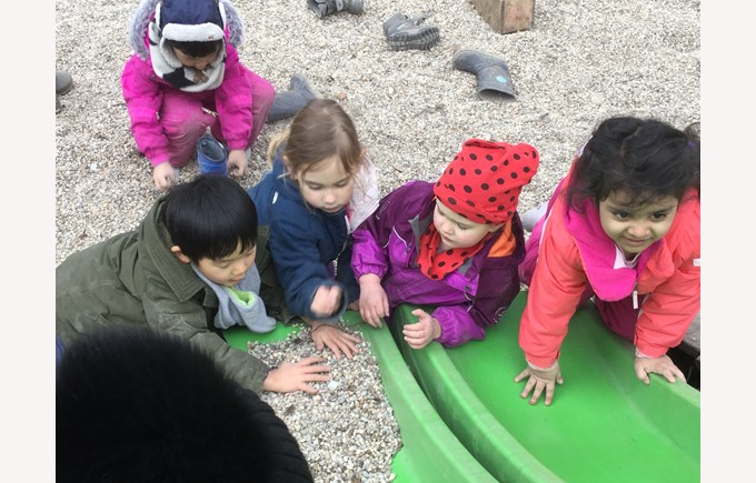 Nursery Outdoor Learning