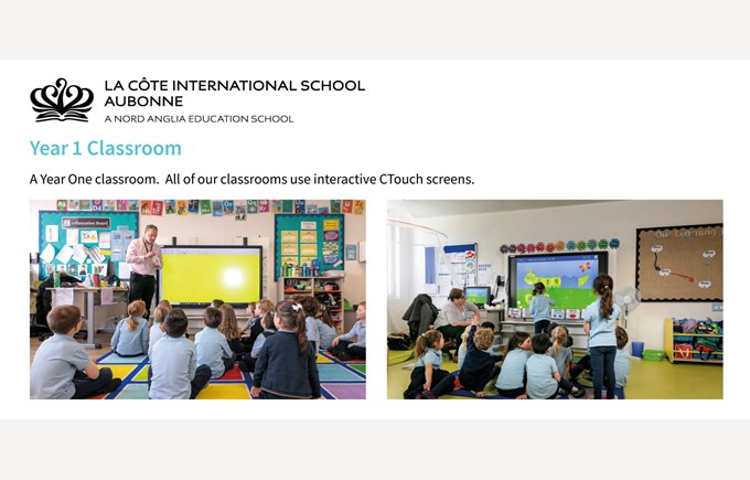 LCIS Year 1 Classrooms