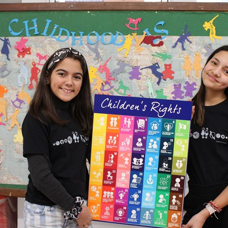 World Children's Day children's rights poster 2019