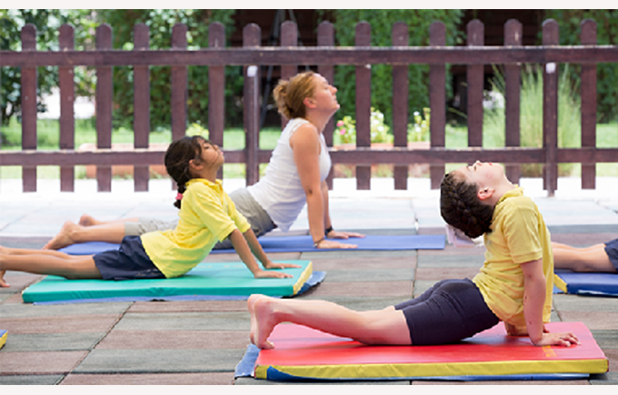How does yoga benefit your child's learning?