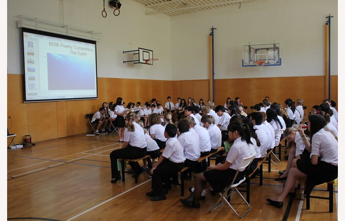 Poetry Competition at The British International School Bratislava