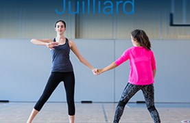 Juilliard students dancing contemporary