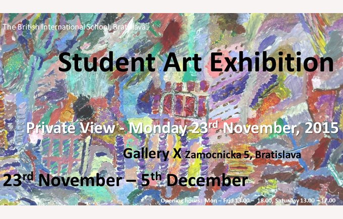 Gallery X invitation