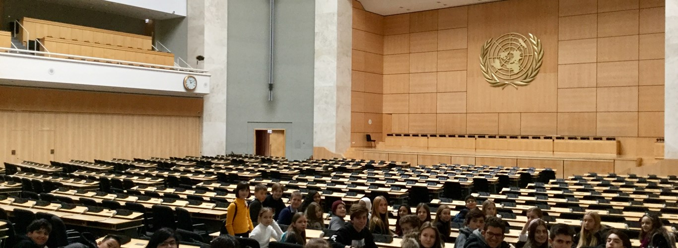 UN assembly room