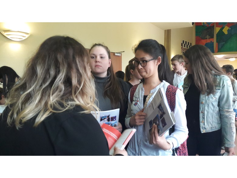 Year 12 visit to British Universities Fair