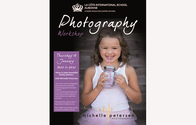 Photography Workshop with Michelle Petersen