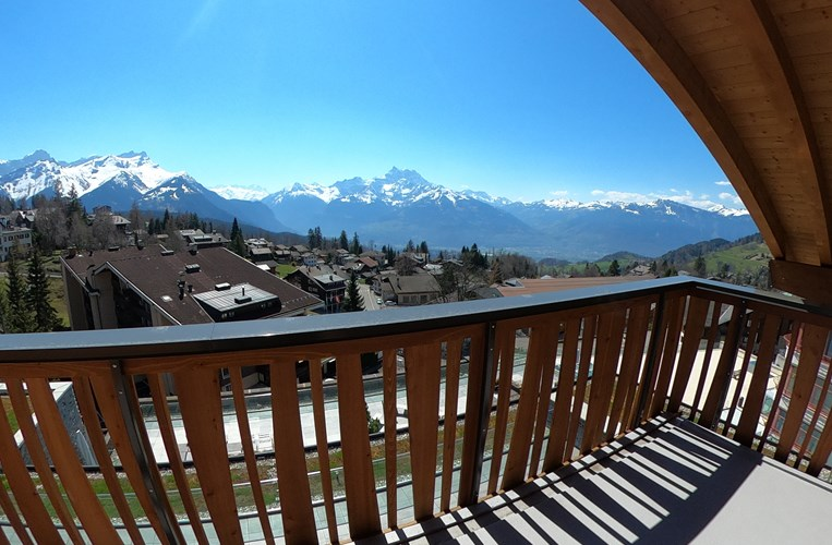 Deux Chalets balcony