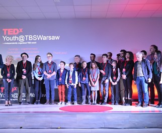 TEDX All on stage