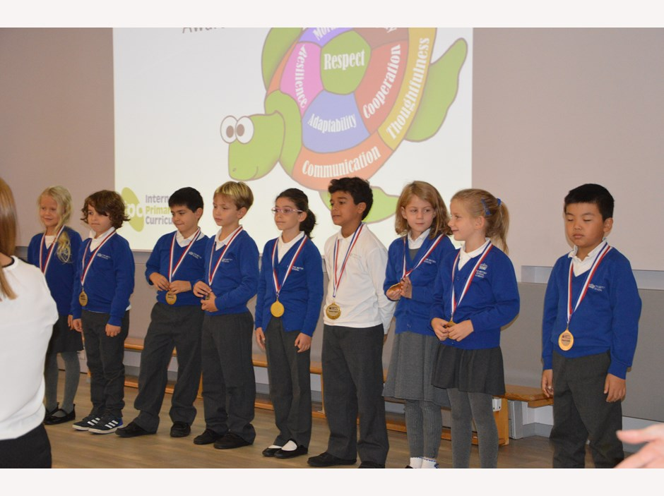 Primary medals Sept