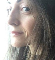 This is the staff profile photo for Michela Mantani Communications Manager