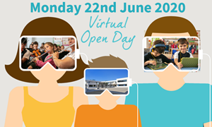 Virtual Open Day Link Image ICS June 2020