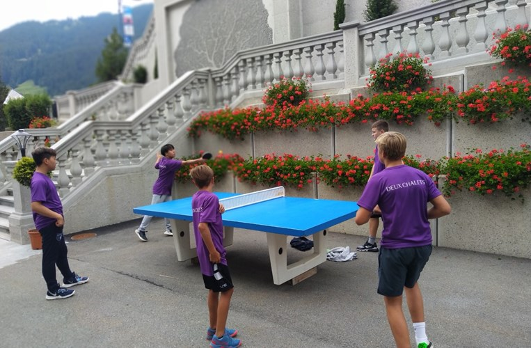 Deux Chalets pingpong