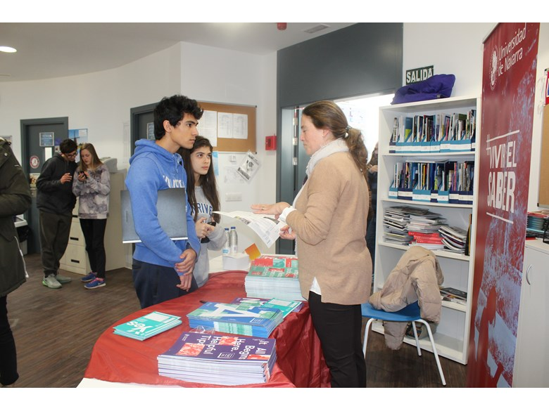 Students learn more at the Spanish Universities Fair 2017
