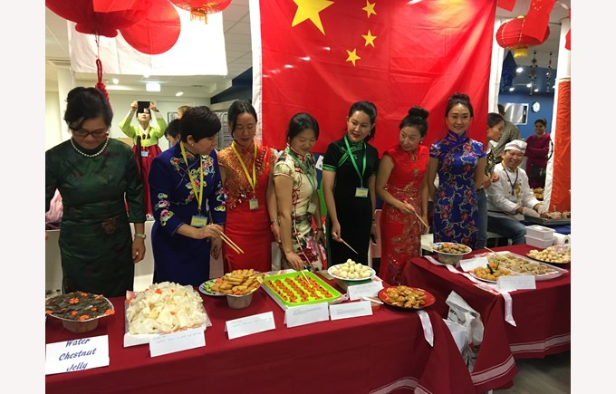 Representatives of the Asian cuisine