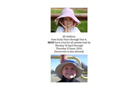 Hats and Sunscreen