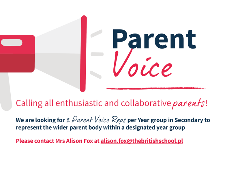 Calling all enthusiastic and collaborative parents