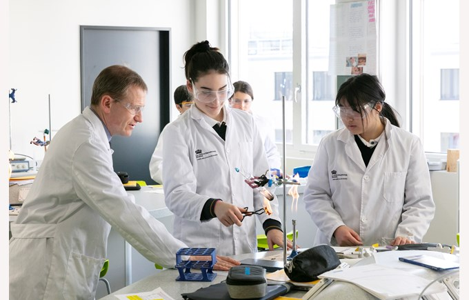 Science is taught in state-of-the-art facilities at La Côte International School Aubonne, near Geneva and Lausanne
