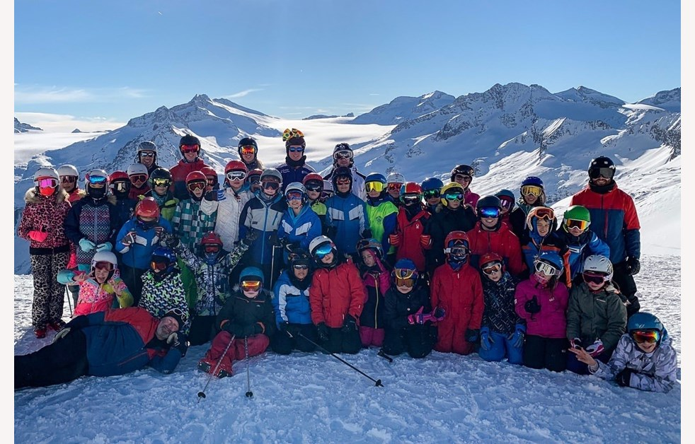 Ski Trip Group Photos