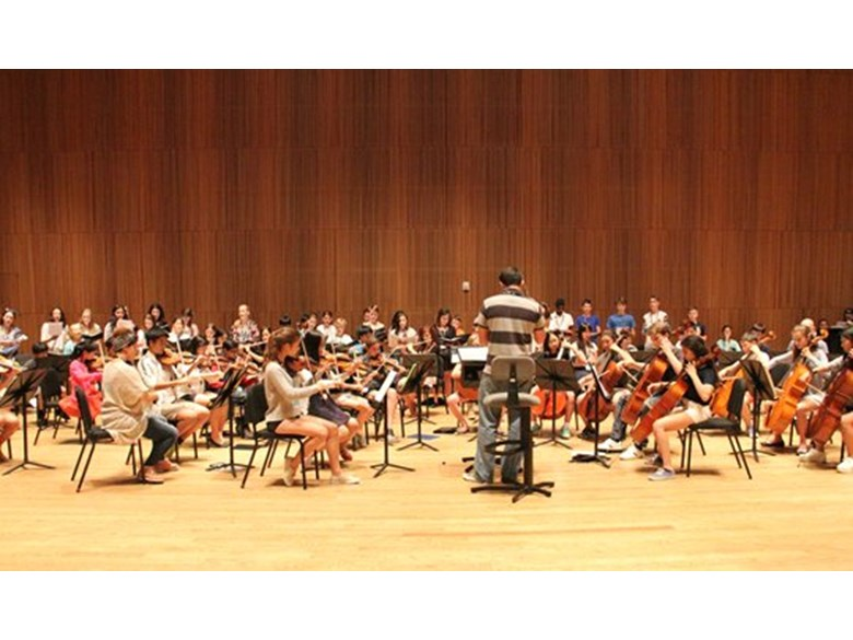 Global Orchestra Rehearsal