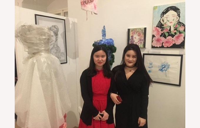 students art exhibition