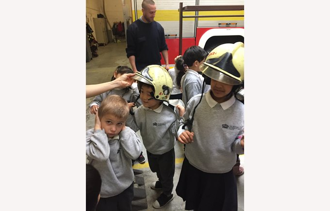 Trip to Fire Station