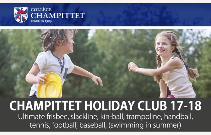 Flyer champittet holiday club