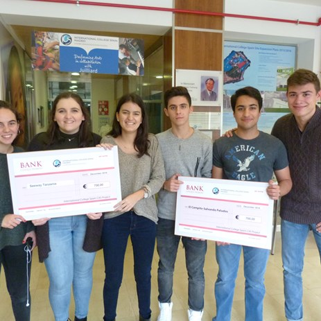 Our charitable community students raise money for worthy causes