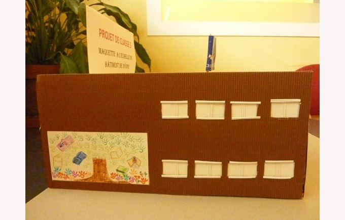 Mockup of Nyon 2 by students in 5th grade.