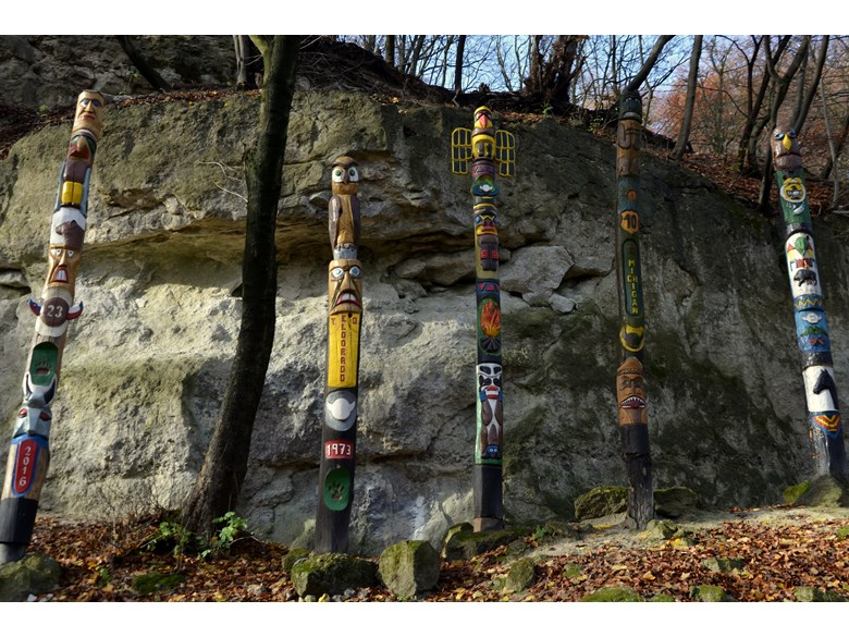 White Rocks - Indians totems