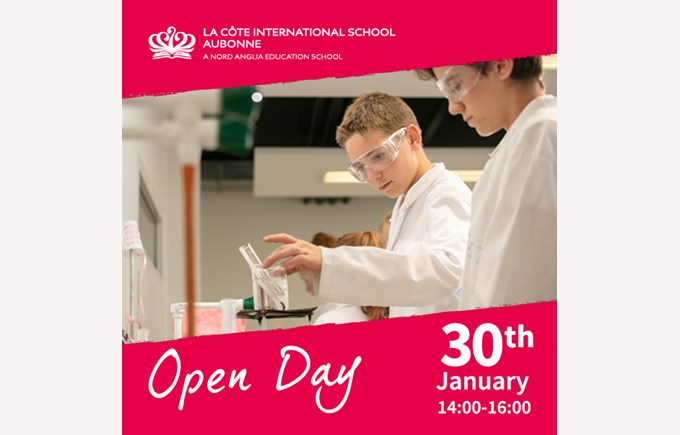 Open Day Jan 2019