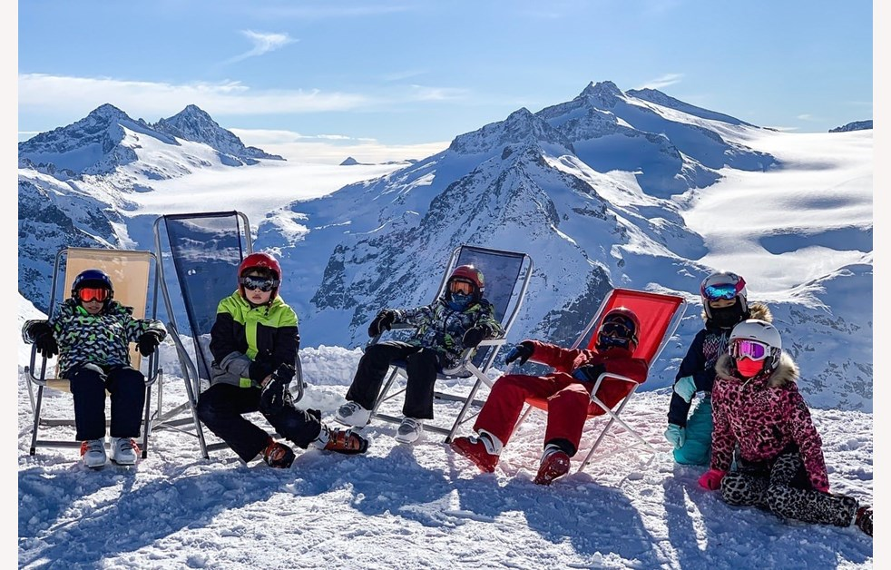 Ski trip Deck Chairs