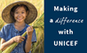 Making a difference with UNICEF
