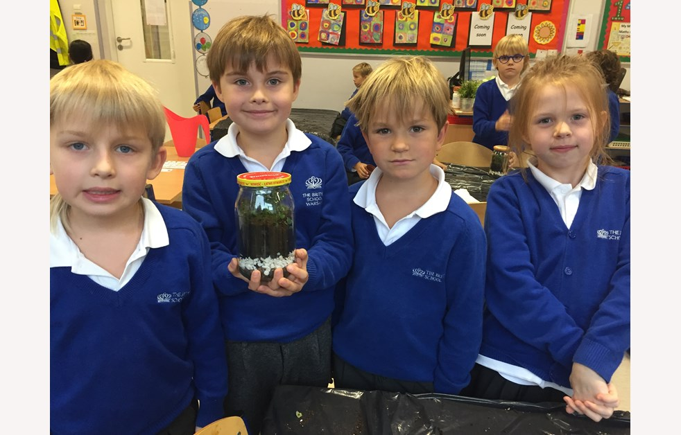 Year 2 Garden in a Jar