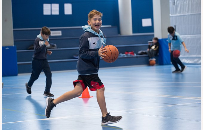 basketball primary sports at ICS