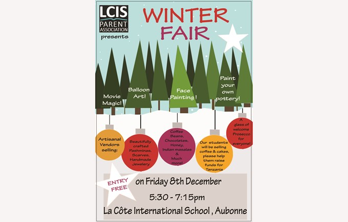 Winter Fair poster